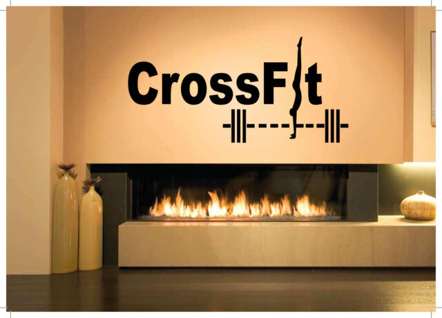 Wall Decor Art Vinyl Sticker Mural Poster Fittness CrossFit Gym Fit Life SA942