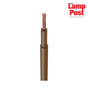 25mm-25-0mm-BROWN-Meter-Tails-Cable-Double-Insulated-6181Y-ORDER-PER-METRE