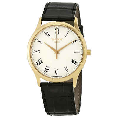 Tissot Excellence Men's 18kt Yellow Gold Leather Watch T926.410.16.013.00