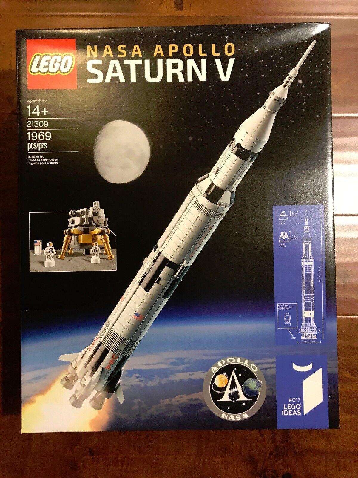 Brand New LEGO LEGO LEGO Ideas 21309 NASA Apollo Saturn V 1969 Pcs In hand ready to ship 1aec60