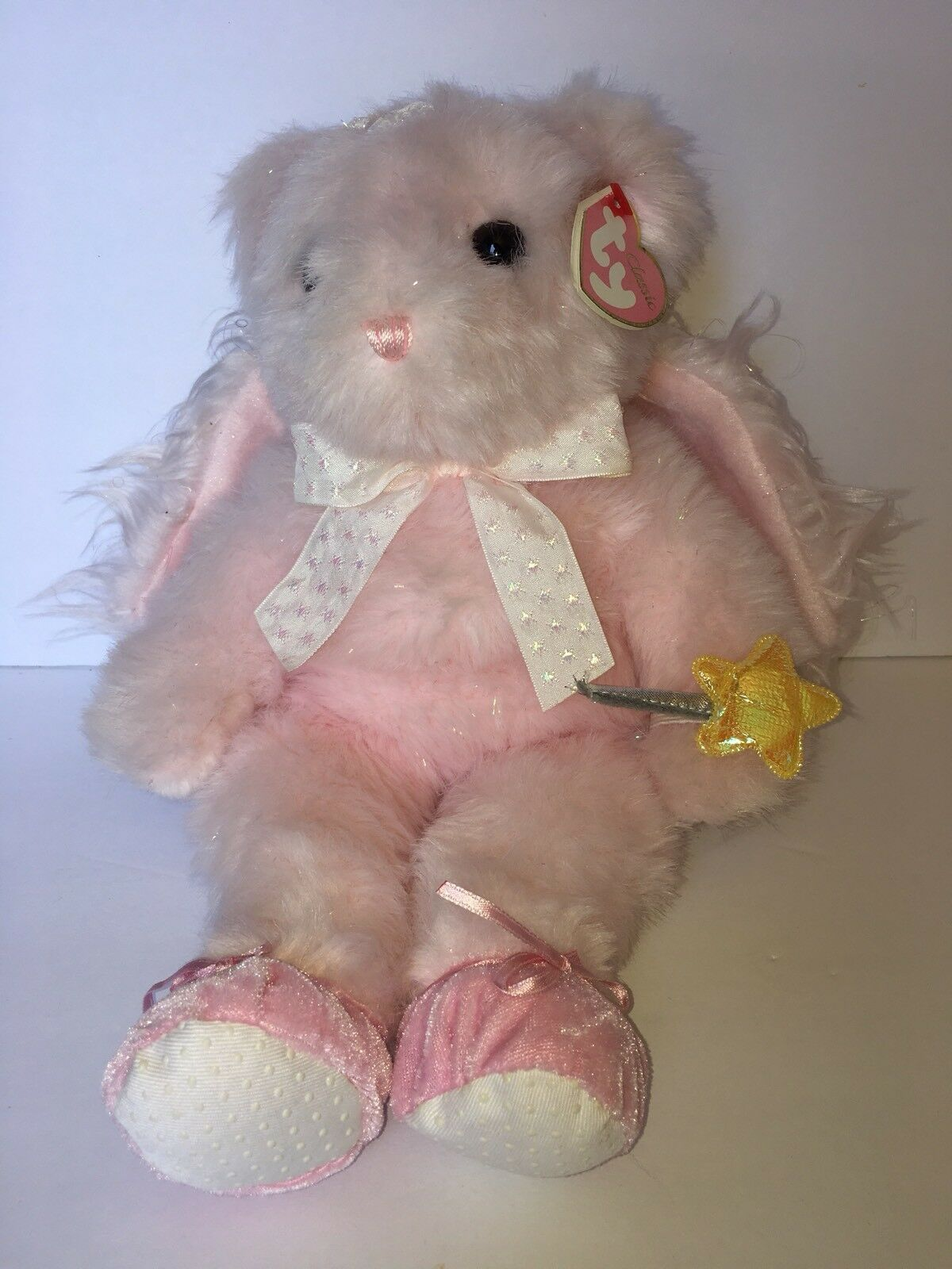 Ty Classic Beanie Faithful The Pink Angel Bear Buddy Buddy Buddy 2006 b2a0c2