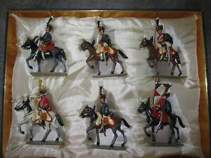 Lucotte box 1 ° empire - 9 ° regiment hussar horse has