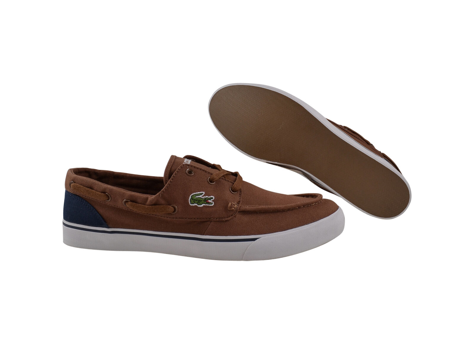 Lacoste Keel WD SPM tan/dark blue Premium Sneaker/Schuhe braun