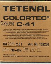 TETENAL Colortec© C-41 Negativ Kit Rapid für 2,5 Liter  NEU  NEU  NEU  !!!!!!!