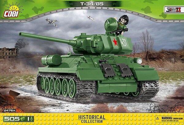 SMALL ARMY WWII - 2476 - T-34 85 (TANK) (TANK) (TANK) - NEUF 925cb6
