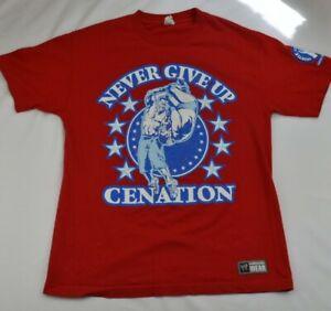 John-Cena-WWE-you-Cant-See-Me-Cenation-Vintage-T-Shirt-Mens-Large-393C2