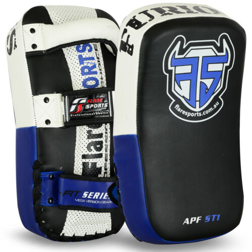 Flare Thai Arm Pad Strike Shield Focus MMA Punch  Muay Curve Kick Boxing 1 pair