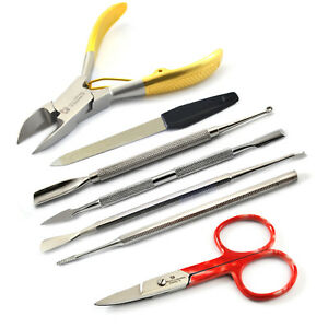 Professional-Chiropody-Cuticle-Nail-Surgery-Kit-Toe-Nail-Clipper-Cutter-Manicure