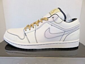 81e9185cbbc Air Jordan 1 Nike Phat Low Derek Jeter NY Yankees Canvas 395669-102 ...