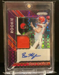 2018-Panini-Prizm-Purple-RPA-Baker-Mayfield-Auto-RC-Rookie-Browns-Jersey-50
