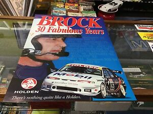 Peter-Brock-034-30-Fabulous-Years-034-Poster-Excellent-Condition-Rare
