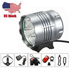 5 x Cree XML T6 LED 10000 Lm Bike Bicycle Rechargeable Light Headlamp Torch Lamp