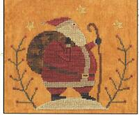 santa's Hike Cross Stitch Pattern - Teresa Kogut