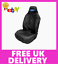 Fits FORD SIERRA COSWORTH FORD Car Sports Recaro Seat Cover Protector in Black