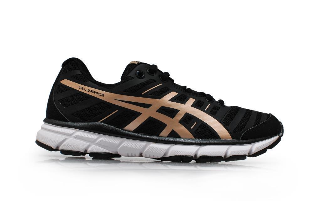 women Asics Gel Zaraca 2 - T3A9N9094 - black gold shoes Sportive