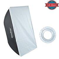 Us Godox 60x90cm Softbox Bowens Mount For Studio Strobe Flash Light 24x35