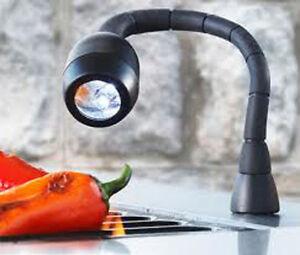 magnetic flexible mini grill light black 4led bbq grill light outdoor handy tool ebay. Black Bedroom Furniture Sets. Home Design Ideas