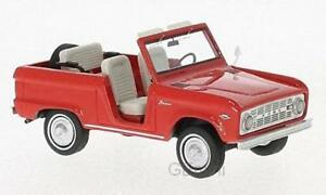 Neo 47210 - Ford Bronco Roadster Rouge 1966 1/43
