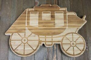 Wells-Fargo-Bank-Wood-Cheese-Charcuterie-Cutting-Board-Stagecoach-D1