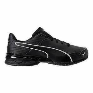 Men's Puma Super Levitate Running Shoes Black/White 19097402 BLK