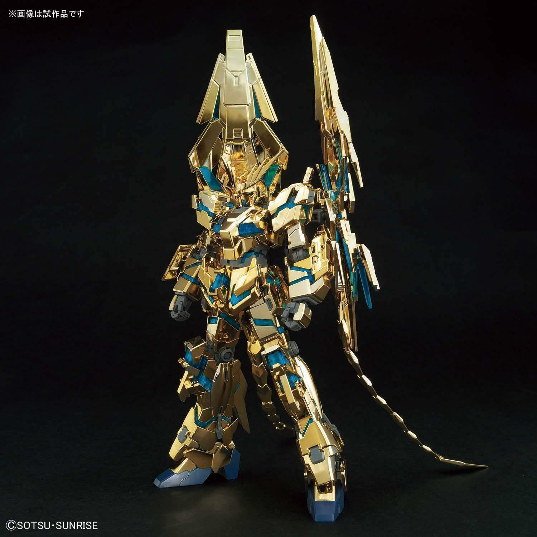 Nuevo Hguc Gundam Mobile Suit NT Unicornio Unidad 3 Fennex Destroy Modo