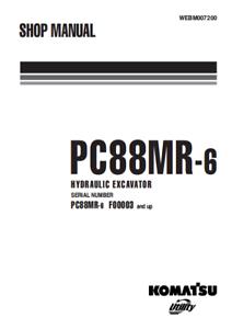 download komatsu pc88mr 8 excavator manual