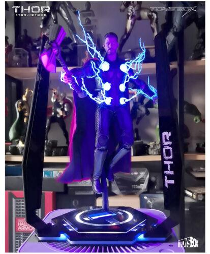 "Toys-BOX 1//6 LED THOR UV piattaforma TB077 DUAL I VENDICATORI 12/"" Figura scena parte"