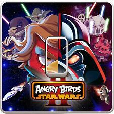 Star Wars Angry Birds Light Switch Vinyl Sticker Decal for Kids Bedroom #303