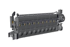 Cmk-1-72-Seconda-Guerra-Mondiale-Diesel-Motore-Man-M9v46-N7227