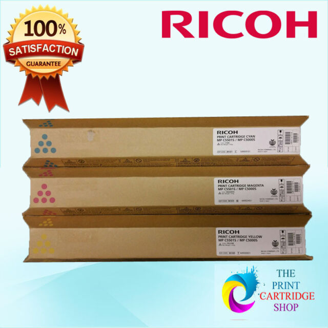 New & Original Ricoh 841469 841470 841471 Toner Set CMY MPC5501S  MPC5000S