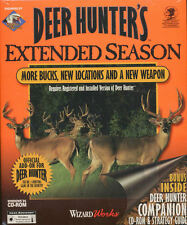 DEER HUNTER'S EXTENDED SEASON - Rare Expansion Vintage Hunting PC Game NEW inBOX