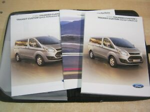 ford transit turneo custom handbook owners manual 2013 2017 service rh ebay co uk Ford Tourneo Seating Capacity Bag Ford Tourneo 9 Passenger