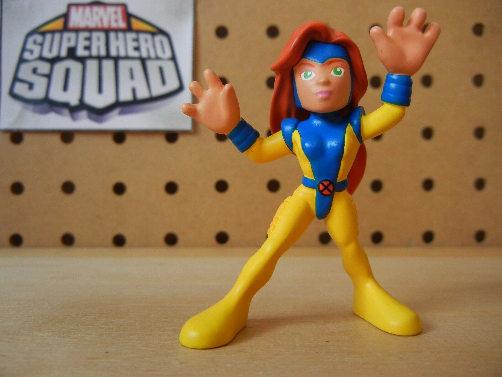 Marvel Super Hero Squad HAND-PAINTED Resin PredOYPE JEAN GREY '90s X-Men Costume