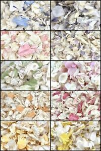 Biodegradable-WEDDING-CONFETTI-IVORY-Dried-FLUTTERFALL-Throwing-Petal-1-LITRE