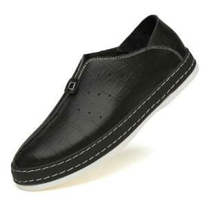Mens-Half-Silpper-Loafers-Breathable-Casual-Shoes-Driving-Slip-On-Round-Toe-2020