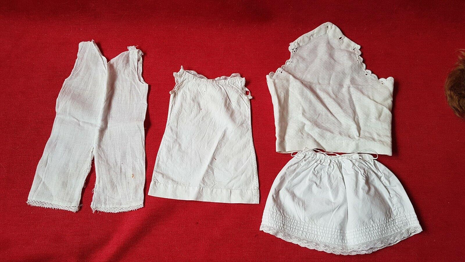 1890 - Vêtement pour Poupée SFBJ   Jumeau   Bébé Bru Talla 10 - lingerie
