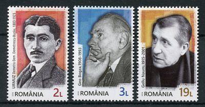 Onafhankelijk Romania 2018 Mnh Romanian Avant-garde Writers 3v Set People Literature Stamps Vraag Die Groter Is Dan Het Aanbod