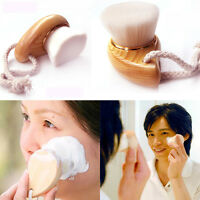 Wash Pore Soft Mild Fiber Deep Cleansing Face Clean Facial Care Wooden Brush us