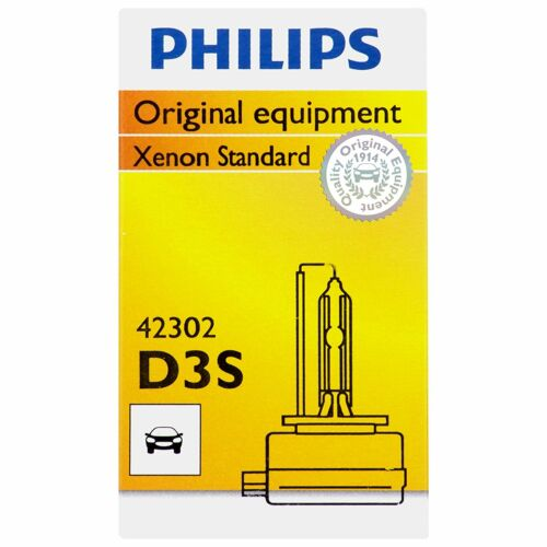 Philips Genuine D3S 42302C1 Xenon HID Upgrade Headlight Bulb Made in Germany