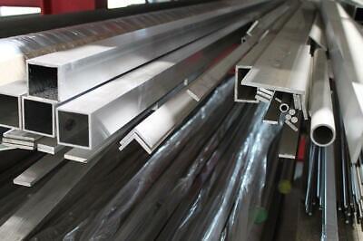 Alu T-Profil 40x40x4mm Aluprofil Aluminium 1 Meter