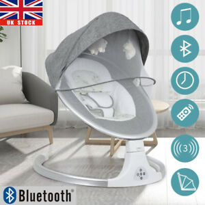 Foldable Electric Baby Bouncer Rocker Chair Portable Musical
