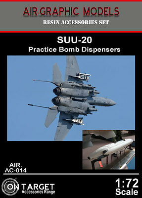 Air-Graphics AIR.AC-014 1//72 Scale SUU-20 Practice Bomb Dispensers