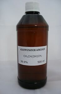 500ml Isopropyl Alchohol ISOPROPANOL ( IPA ) - 99.9%