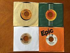 Set of 4 TV Theme Soundtracks 45 Records Welcome Back Kotter Rocky S.W.A.T. more
