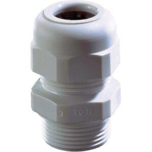 Wiska-10066404-skv-16-Gris-Claro-Plastico-Cable-Glandula-con-descarga-de-presion