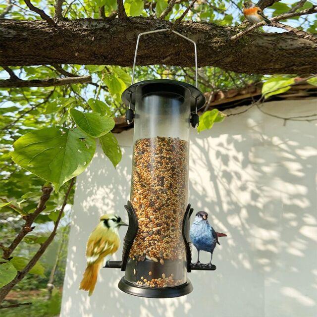 "Bird Feeder Cat NEW hanging metal and melamine resin 6 1//4/"" diameter"