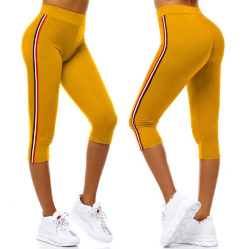 Leggings Fitness Sport Yoga Leggins Jogginghose Lang Hose Slim Fit OZONEE Damen