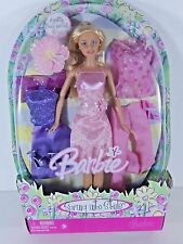 NIB BARBIE   2005 SPRING INTO STYLE EASTER PLUS TWO EXTRA OUTFITS