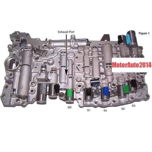 A960E Transmission Valve Body /& Solenoids For Lexus TOYOTA 6-Speed