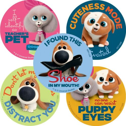 25 The Secret Life Of Pets 2 Stickers Party Favors Teacher Supply Max Duke